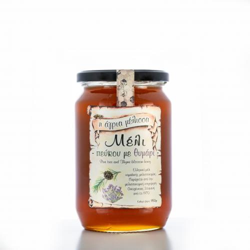 Μέλι πεύκου με θυμάρι 950gr X3 | Μέλι | Παραδοσιακά προϊόντα